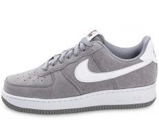 Chaussures Nike Air Force 1 Suede grise