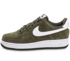 Chaussures Nike Air Force 1 Suede kaki