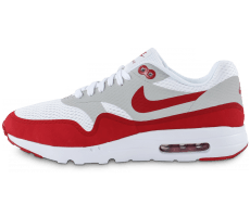 Chaussures Nike Air Max 1 Ultra Essential blanc rouge