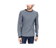 Textiles Jack & Jones Pull Knit Graph bleu marine