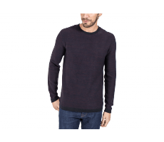 Textiles Jack & Jones Pull Knit Graph bordeaux