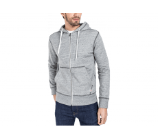 Textiles Jack & Jones Sweat à Capuche Zippée Storm gris