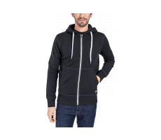 Textiles Jack & Jones Sweat à Capuche Zippée Storm noir