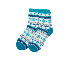 Accessoires Yaktrax Chaussettes Aloe Cabin Turquoise
