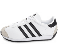 Chaussures adidas Country OG Enfant blanche et noire