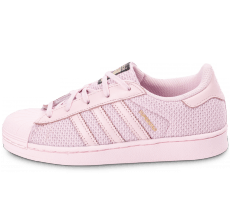 Chaussures adidas Superstar Nylon Enfant rose