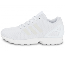 Chaussures adidas ZX Flux triple blanc