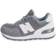 Chaussures New Balance KL574CKP grise et blanche