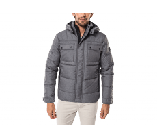 Textiles Jack & Jones Doudoune Quilted Puffer grise