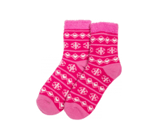 Accessoires Yaktrax Chaussettes Aloe Cabin rose