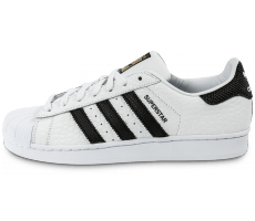 Chaussures adidas Superstar Animal blanc noir