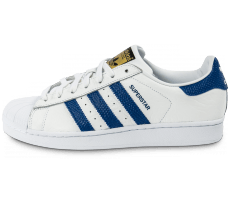 Chaussures adidas Superstar Animal blanc bleu