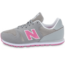Chaussures New Balance KD373YPY grise et rose
