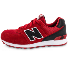 Chaussures New Balance KL574CXG rouge