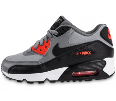 Chaussures Nike Air Max 90 Mesh Junior anthracite