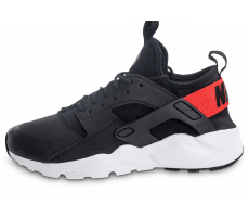 Chaussures Nike Air Huarache Run Ultra Junior noir et rouge