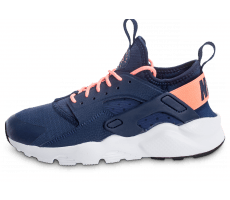 Chaussures Nike Air Huarache Run Ultra Junior bleu marine