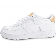 Chaussures Nike Air Force 1 '07 LV08 Junior White Vachetta