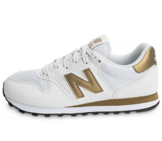 Chaussures New Balance GW500 WG blanc et or