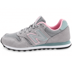 Chaussures New Balance WL373 GT Suede grise