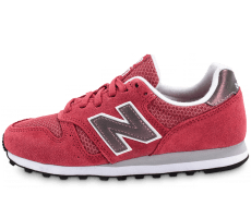 Chaussures New Balance WL373 SI Suede rose