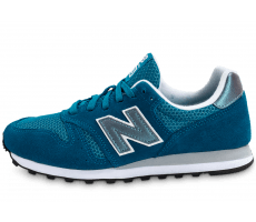 Chaussures New Balance WL373 GI Suede turquoise