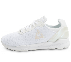 Chaussures Le Coq Sportif LCS R XVI W blanche iridescente