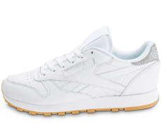 Chaussures Reebok Classic Leather Diamond Gum blanche