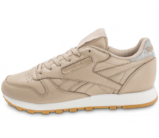 Chaussures Reebok Classic Leather Diamond Gum beige