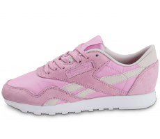 Chaussures Reebok Classic Nylon Face Stockholm rose