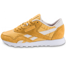Chaussures Reebok Classic Nylon Face Stockholm jaune