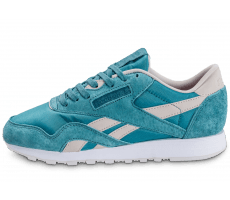 Chaussures Reebok Classic Nylon Face Stockholm bleue