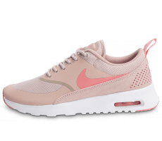 Chaussures Nike Air Max Thea W rose et blanche