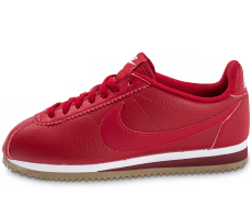 Chaussures Nike Cortez Leather W rouge