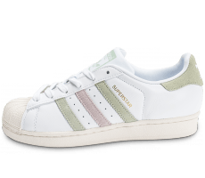Chaussures adidas Superstar Cuir Core blanche