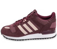 Chaussures adidas ZX 700 W bordeaux