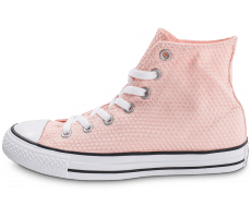 Chaussures Converse Chuck Taylor All-Star Hi Snake Woven rose