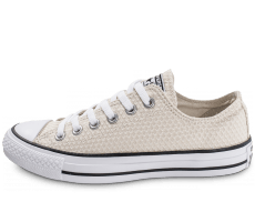 Chaussures Converse Chuck Taylor All-Star Snake Woven OX beige