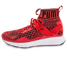 Chaussures Puma Ignite EvoKnit rouge