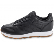 Chaussures Reebok Classic Leather PG noire