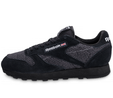 Chaussures Reebok Classic Leather Knit noire