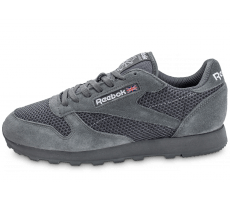 Chaussures Reebok Classic Leather Knit grise