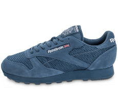 Chaussures Reebok Classic Leather Knit bleue