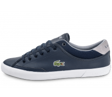 Chaussures Lacoste Angha Leather bleu marine