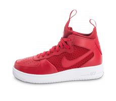 Chaussures Nike Air Force 1 UltraForce Mid rouge