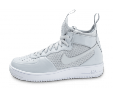 Chaussures Nike Air Force 1 UltraForce Mid grise