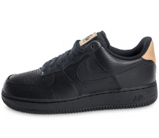 Chaussures Nike Air Force 1 '07 LV08 Black Vachetta Leather