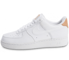 Chaussures Nike Air Force 1 '07 LV08 White Vachetta Leather