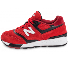 Chaussures New Balance ML597GSB Suede rouge