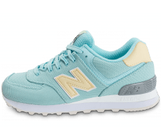Chaussures New Balance WL574 MIC bleue